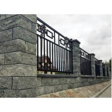 Кованный забор G4