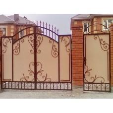 Распашные Ворота Для Дома