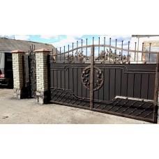 Кованые ворота под заказ