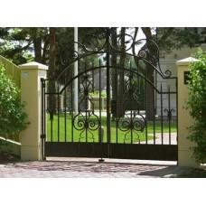 Ворота Решетчатые Распашные