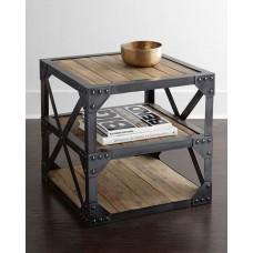 Кофейный столик с стиле лофт