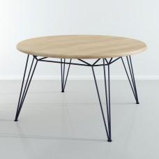 Обеденный стол круглый D 130 см