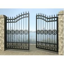 Ворота распашные из металла G3