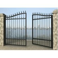 Ворота распашные из металла G5