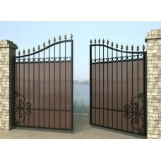 Ворота распашные из металла G8
