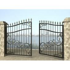 Ворота распашные из металла G10