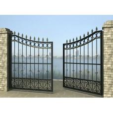 Ворота распашные из металла G11