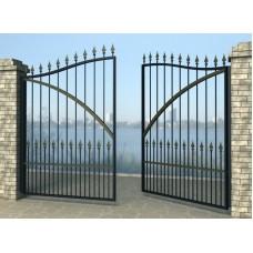 Ворота распашные из металла G17