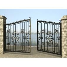 Ворота распашные из металла G18