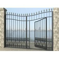 Ворота распашные из металла G19