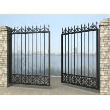 Ворота распашные из металла G20