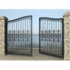 Ворота распашные из металла G21