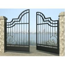 Ворота распашные из металла G23