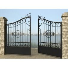 Ворота распашные из металла G28