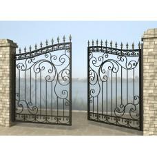 Ворота распашные из металла G29