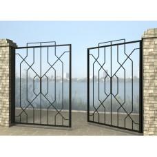 Ворота распашные из металла G30