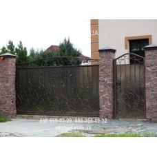 Ворота металлические P2