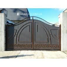Ворота металлические P5