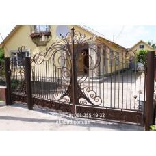 Ворота металлические P6
