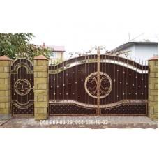 Ворота металлические P8