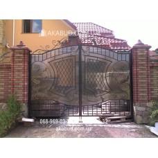 Ворота металлические P11