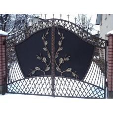 Ворота металлические P12