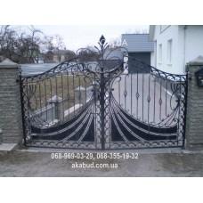 Ворота металлические P15