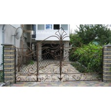 Ворота металлические P16