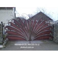 Ворота металлические P17