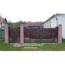 Ворота металлические P18