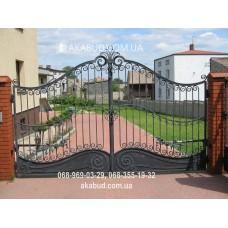 Ворота металлические P19