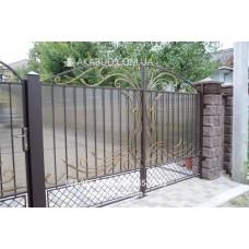 Ворота металлические P20