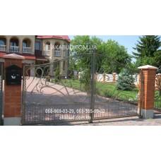 Ворота металлические P23