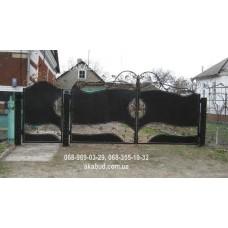 Ворота металлические P24