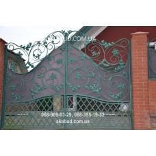Ворота металлические P25