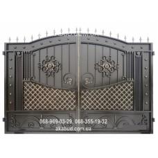Ворота металлические P27