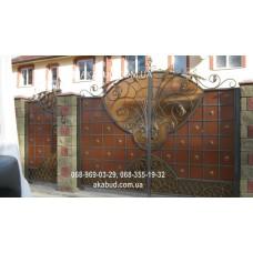 Ворота металлические P28