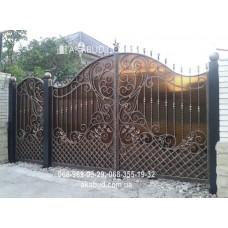 Ворота металлические P29