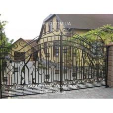Ворота металлические P30