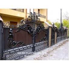 Ворота металлические P31