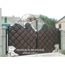 Ворота металлические P32