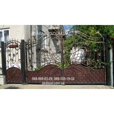 Ворота металлические P33
