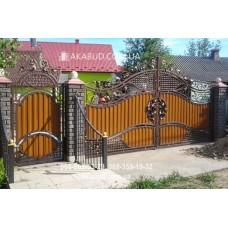 Ворота металлические P35