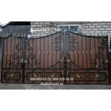 Ворота металлические P36