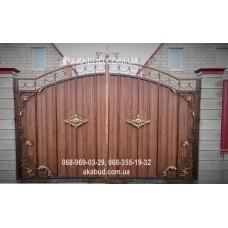 Ворота металлические P59