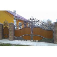 Ворота металлические P60