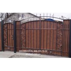 Ворота металлические P61