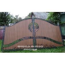 Ворота металлические P38