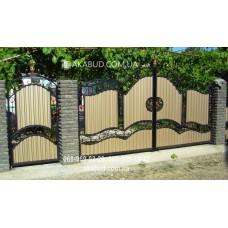 Ворота металлические P37