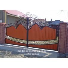 Ворота металлические P40